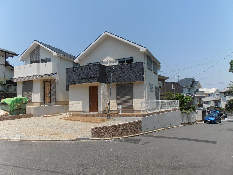新築一戸建て:堺市西区神野町2丁1-24 JR阪和線「津久野」駅徒歩8分