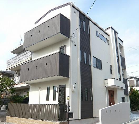 新築一戸建て:堺市東区草尾751 南海高野線「北野田」駅徒歩9分